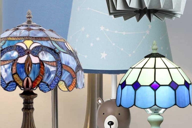 15 Baby Blue Lamp Shades That Will Look Stunning in Any Room