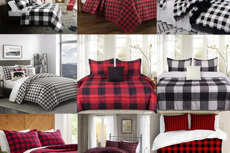 15 Buffalo plaid bedding sets that will keep you warm in style