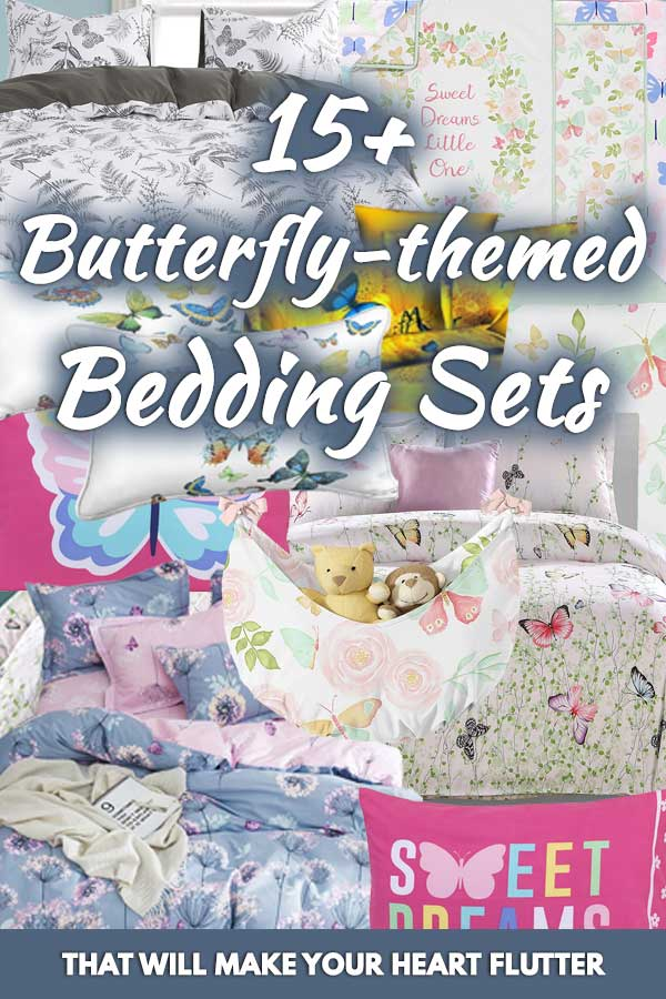 15+ Butterfly-themed Bedding Sets That Will Make your Heart Flutter