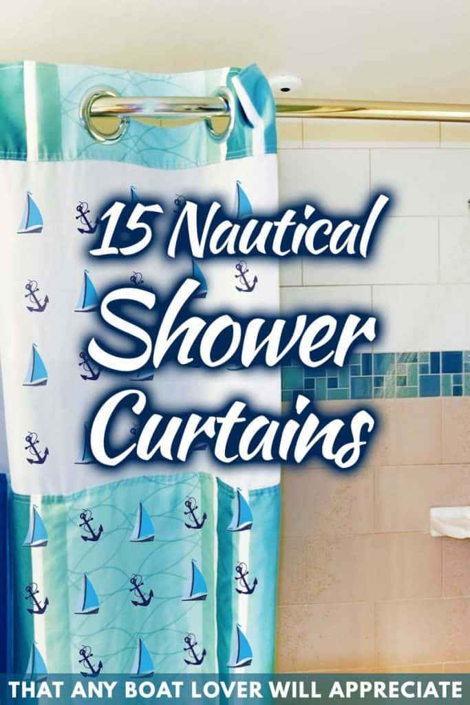 15 Nautical Shower Curtains That Any Boat Lover Will Appreciate
