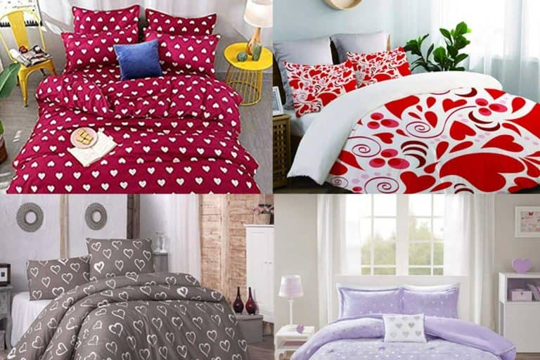 15 Romantic Heart-themed Bedding Sets That Are All About Love