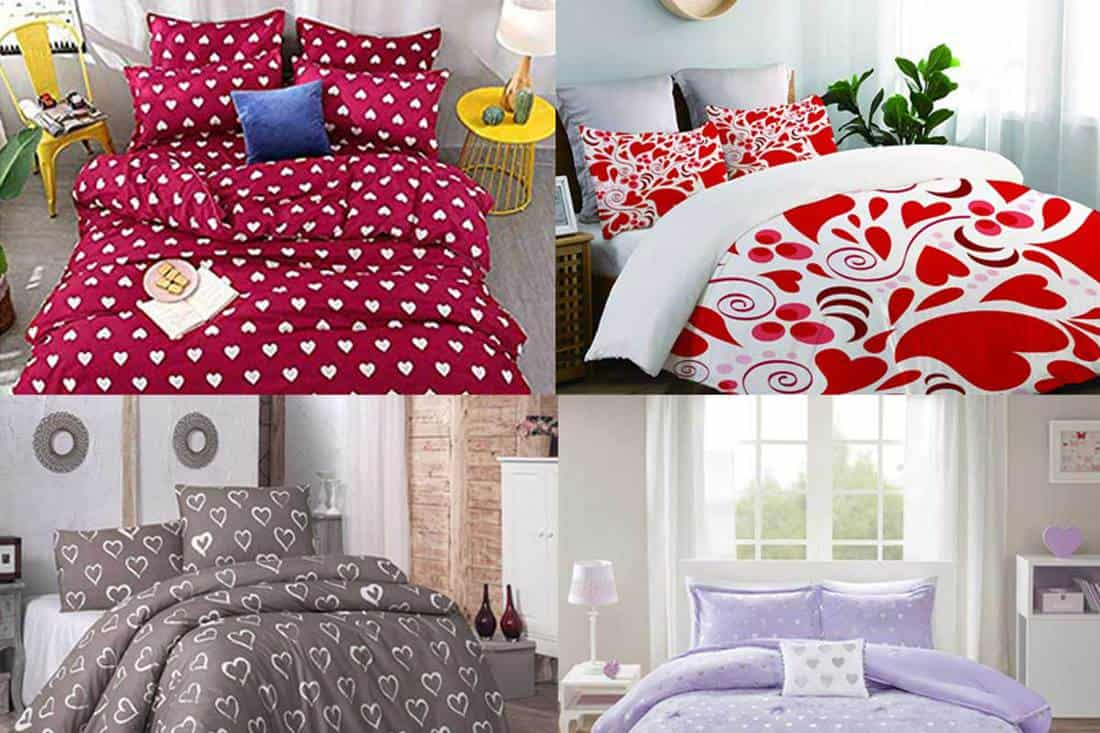 15 Romantic Heart Themed Bedding Sets That Are All About Love Home Decor Bliss