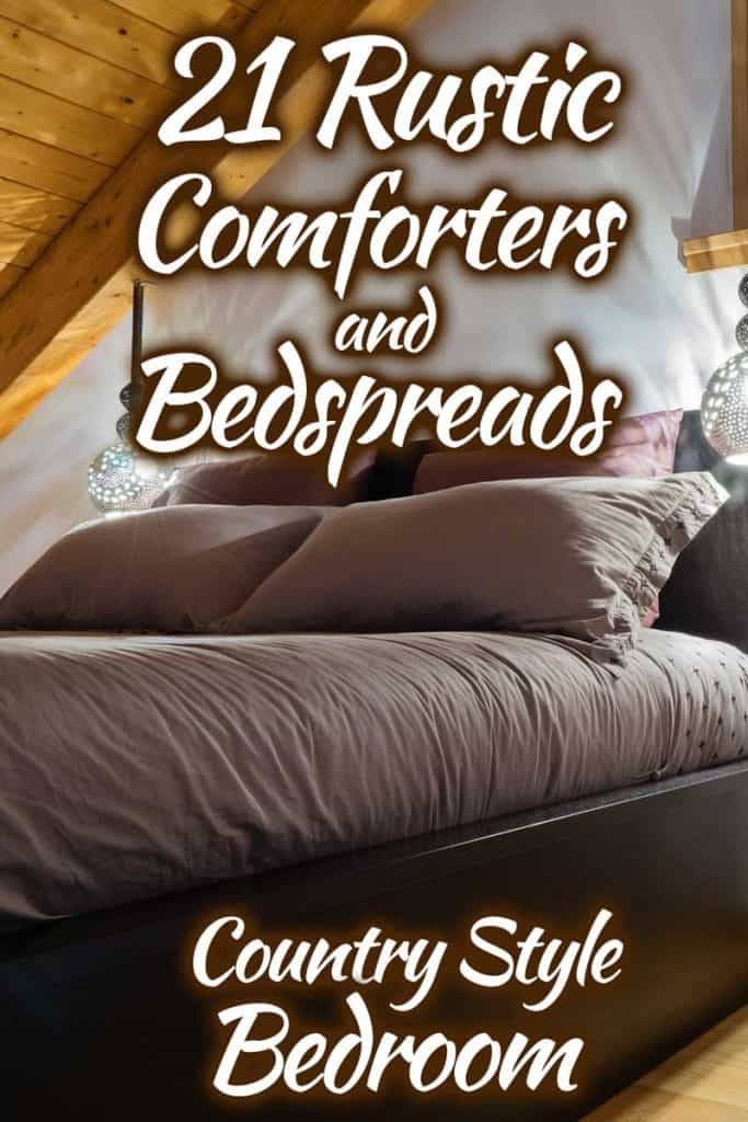 21 Rustic Comforters And Bedspreads For A Country Style Bedroom Home Decor Bliss