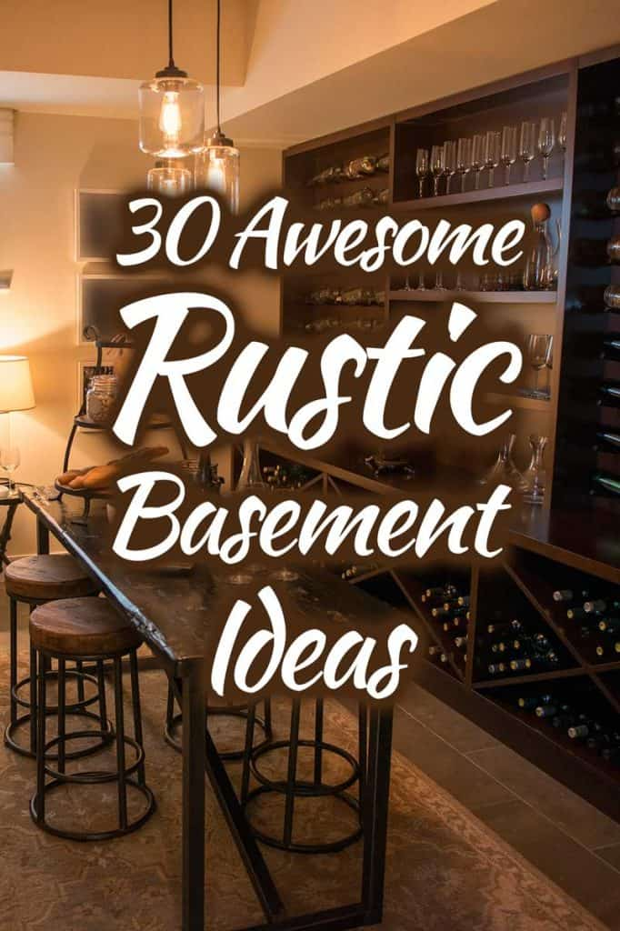 30 Awesome Rustic Basement Ideas Photo List Inspiration Home Decor Bliss