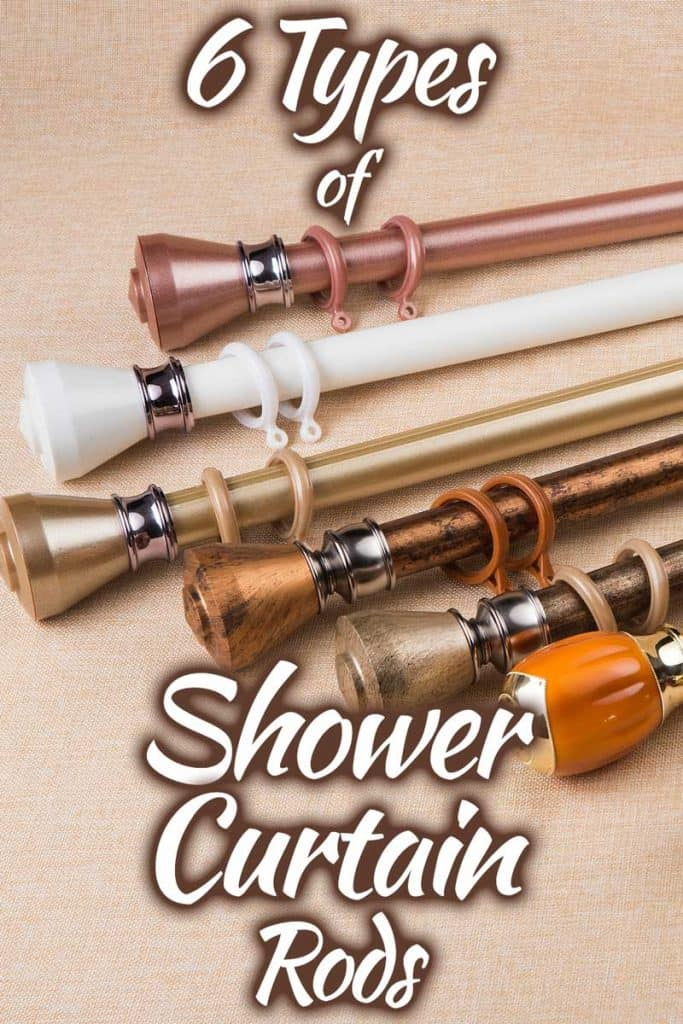 6 Types of shower curtain rods you Should know