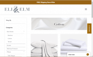 Bedsheets on Eli and elm's page.