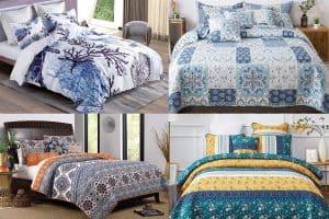 10 Gorgeous Mediterranean Style Bedding Sets