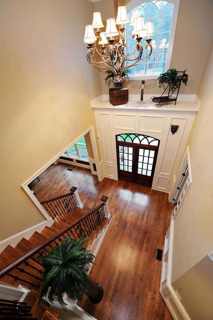 Foyer in home interior