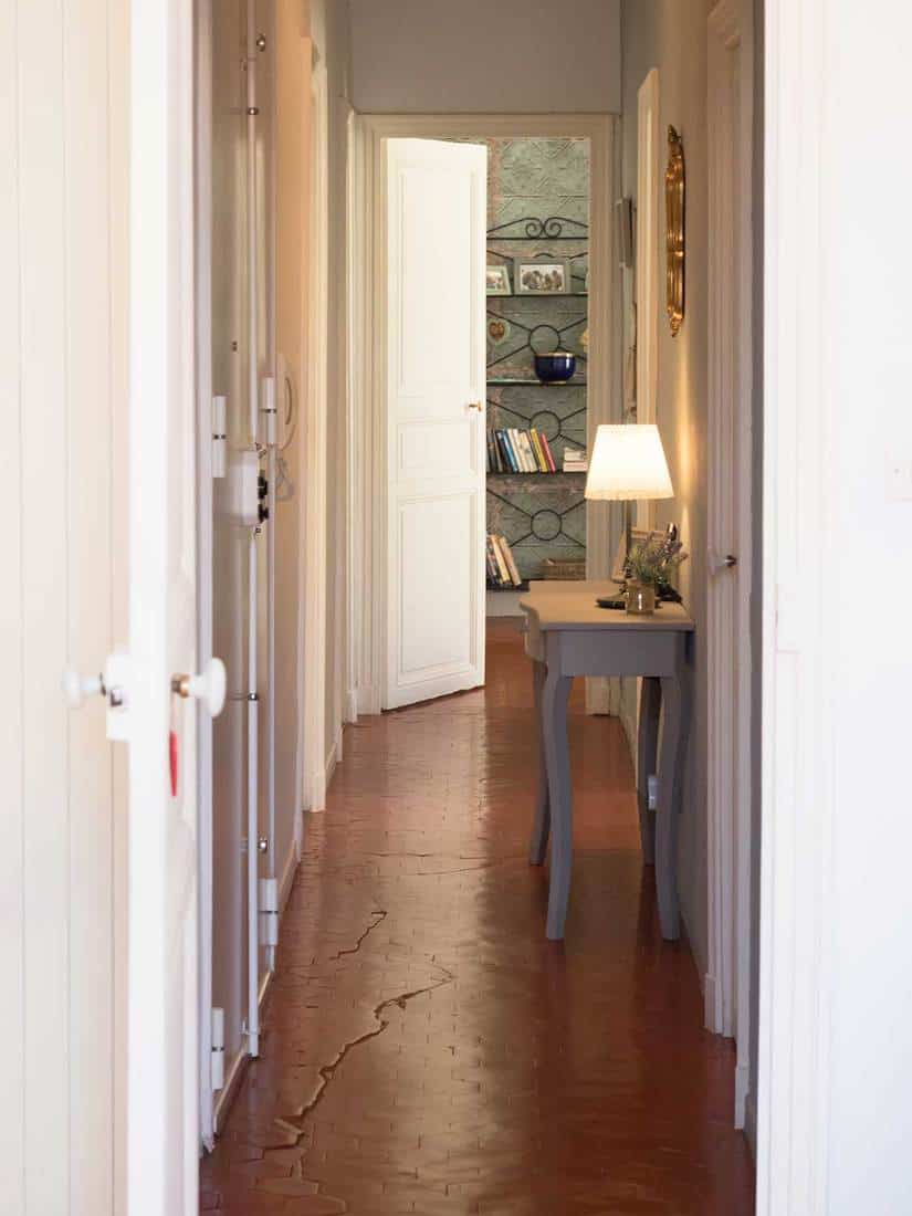 Hallway in french apartment