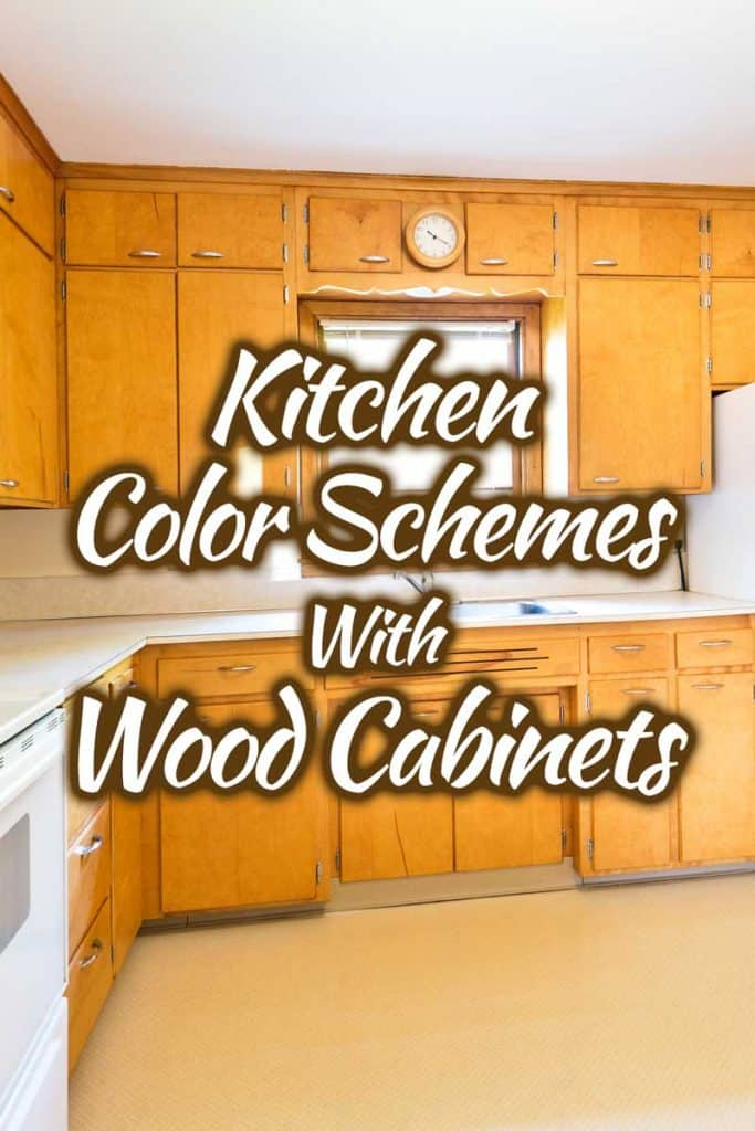 Kitchen Color Schemes With Wood Cabinets 30 Picture Examples Home Decor Bliss