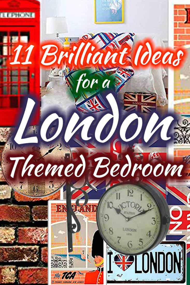 11 Brilliant Ideas For A London Themed Bedroom