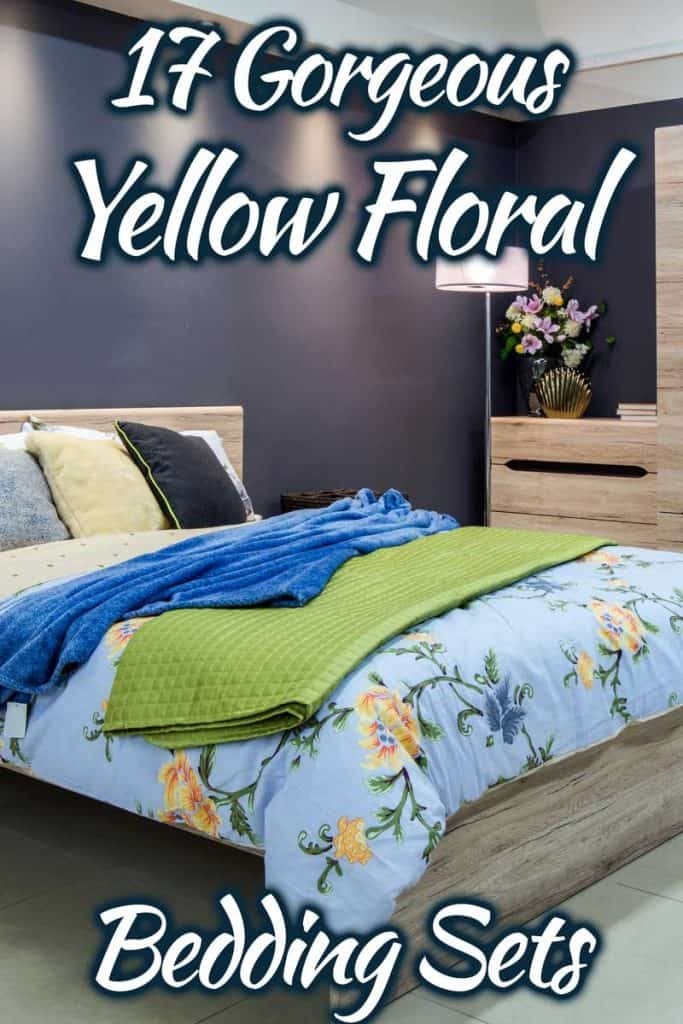17 Gorgeous Yellow Floral Bedding Sets To Consider