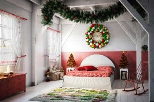 How to Decorate a Bedroom for Christmas?