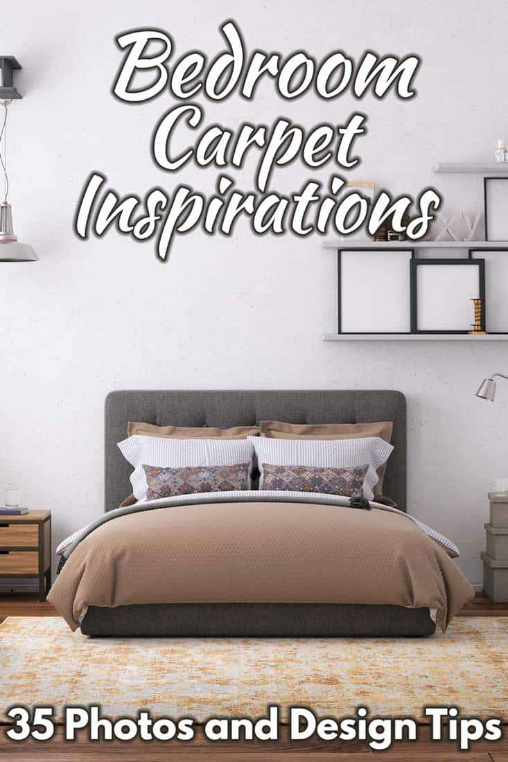 Bedroom Carpet Inspiration: 35 Photos and Design Tips