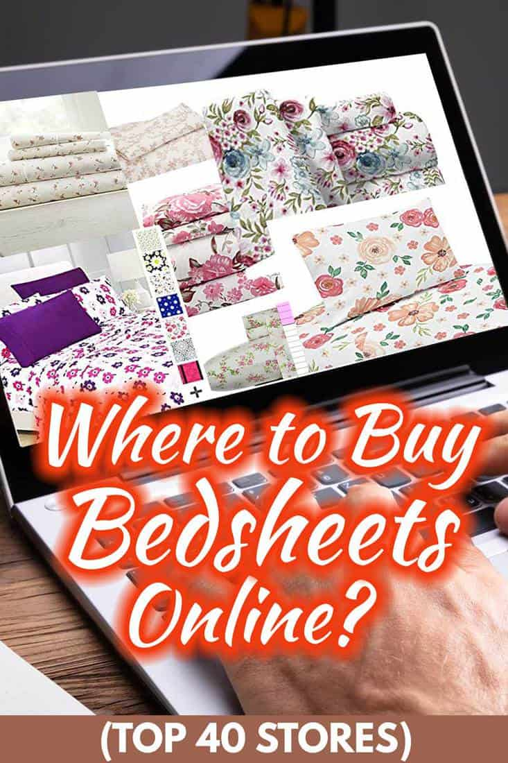 Where to Buy Bedsheets Online? Top 40 Stores