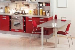 15 Red Vinyl Kitchen Chairs for That Retro Chick Diner Look
