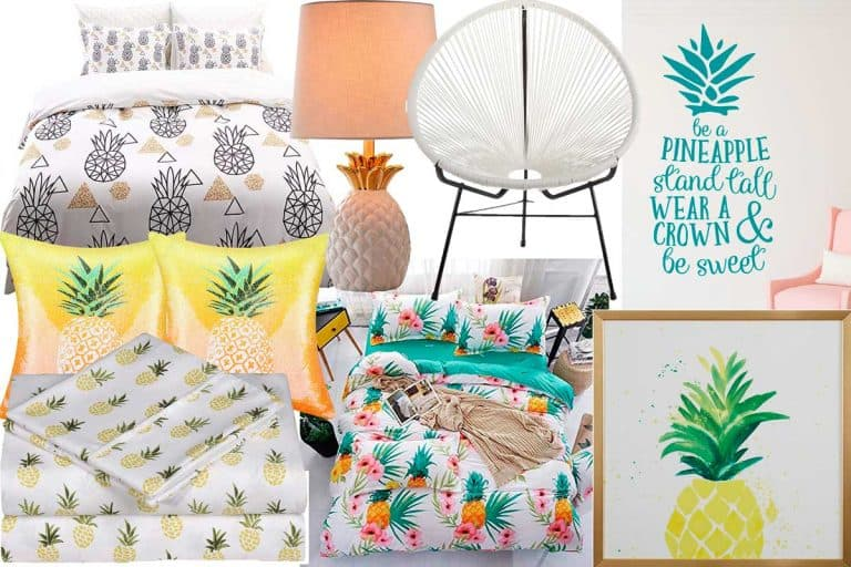 8 Pineapple-Themed Bedrooms (And how to recreate the look)