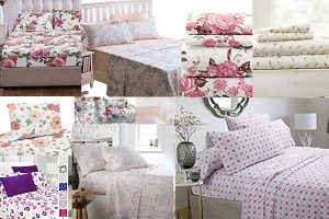 15 Pink Floral Bed Sheets That Will Bring Spring Into Your Bedroom