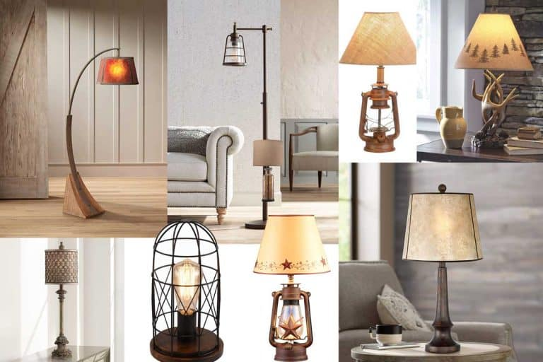 15 Rustic Lamps That Will Light Up Your Living Room