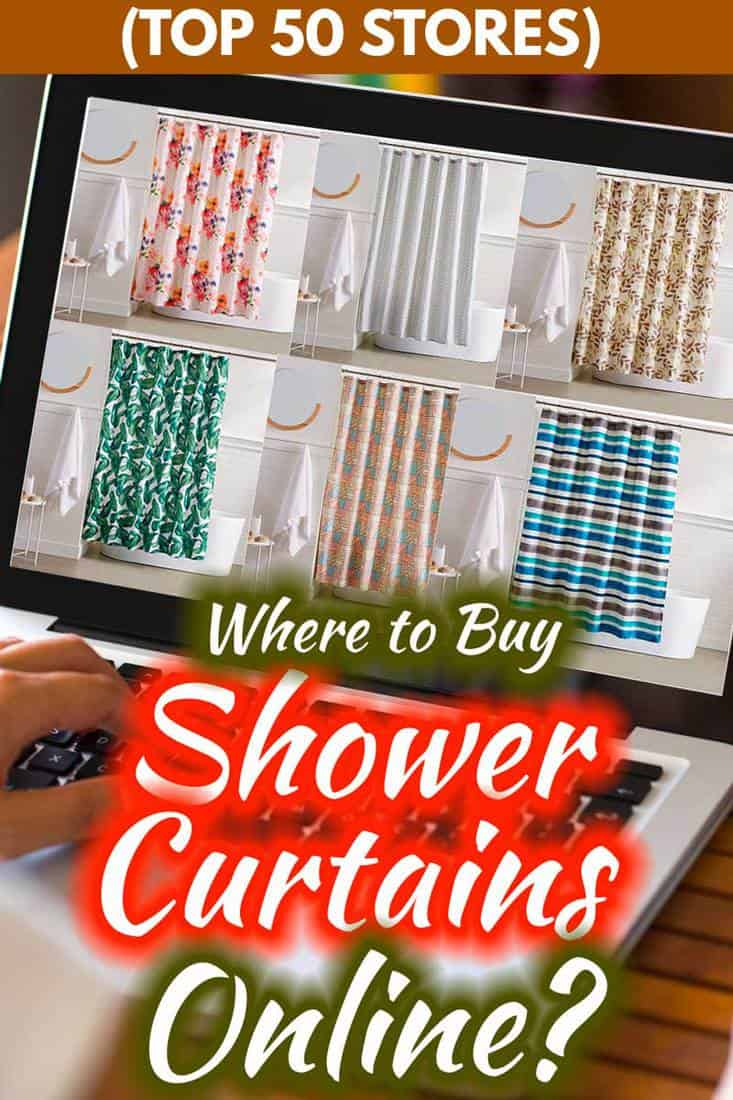 Where to Buy Shower Curtains Online: Top 40 Stores