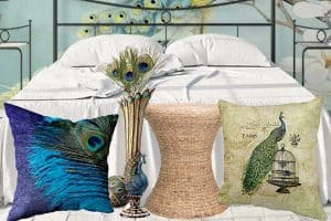 10 Gorgeous Peacock-Themed Bedroom Ideas
