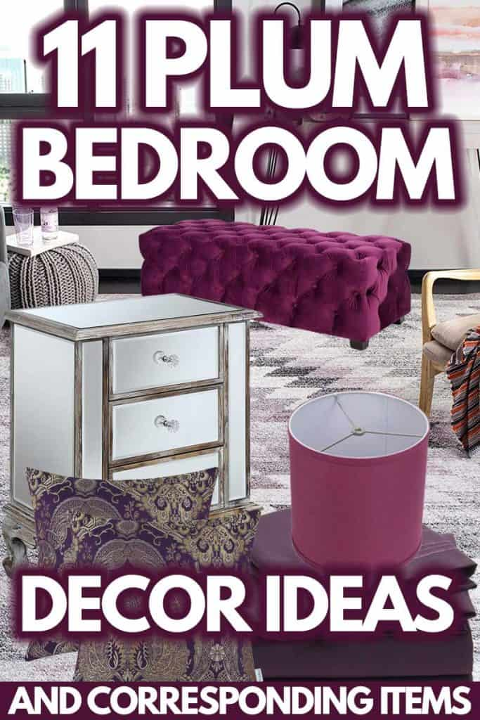 11 Plum Bedroom Decor Ideas [And Corresponding Items]