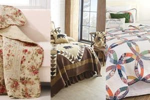 18 Country Quilted Cotton Throws for That Perfect Rustic Look