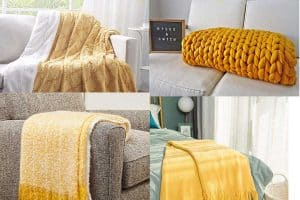 Read more about the article 18 Mustard Yellow Throw Blankets That Will Brighten Up Your Room