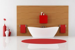 22 Red Bathroom Accessories Ideas You Should Check Out