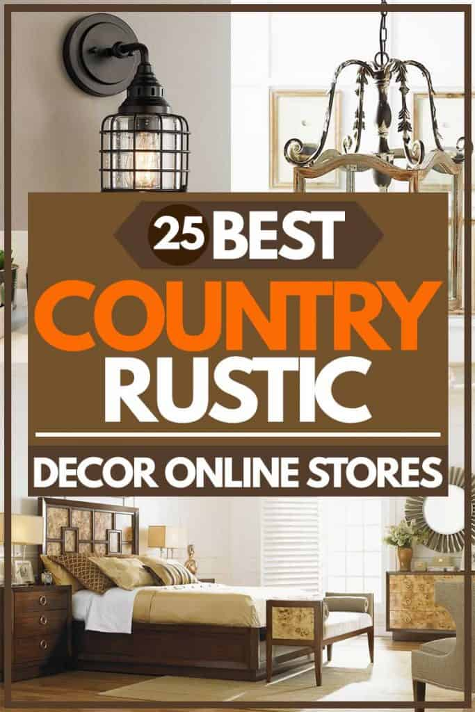 25 Best Country/rustic decor online stores