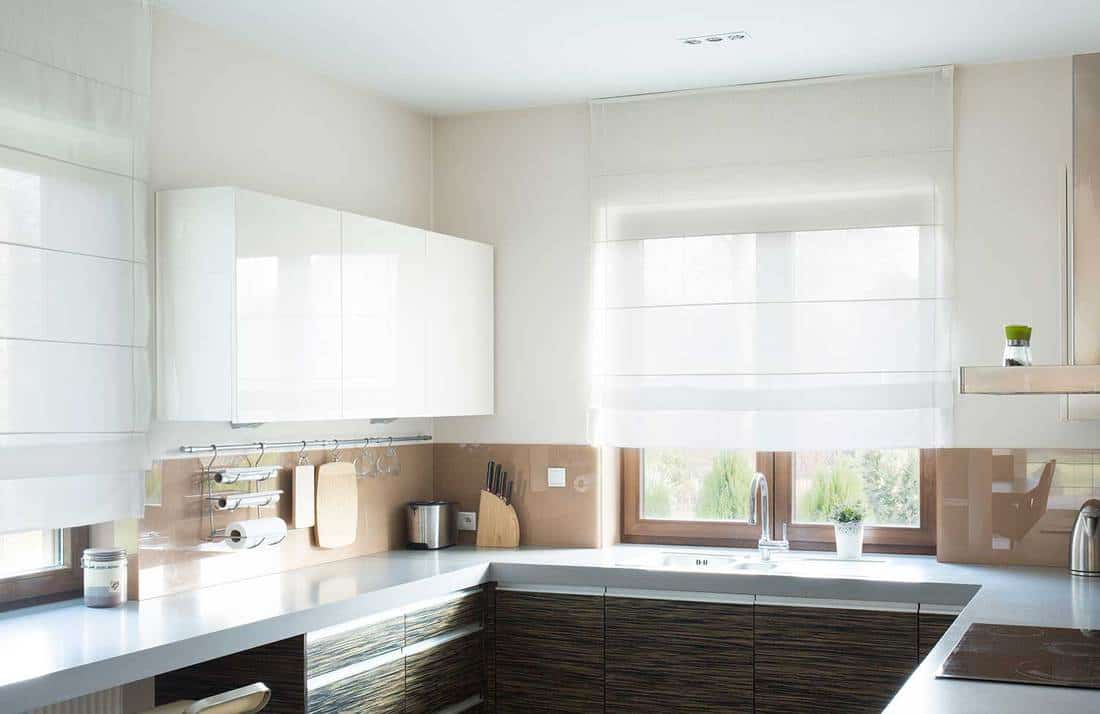 Kitchen Curtains Above The Sink Pictures And Design Tips Home