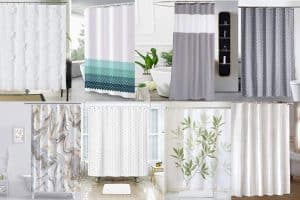 Extra-Long Shower Curtains [16 Suggestions sorted by length]
