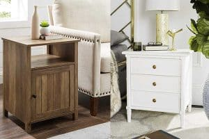 13 Stylish Coastal Nightstands That Will Add Charm To Your Bedroom
