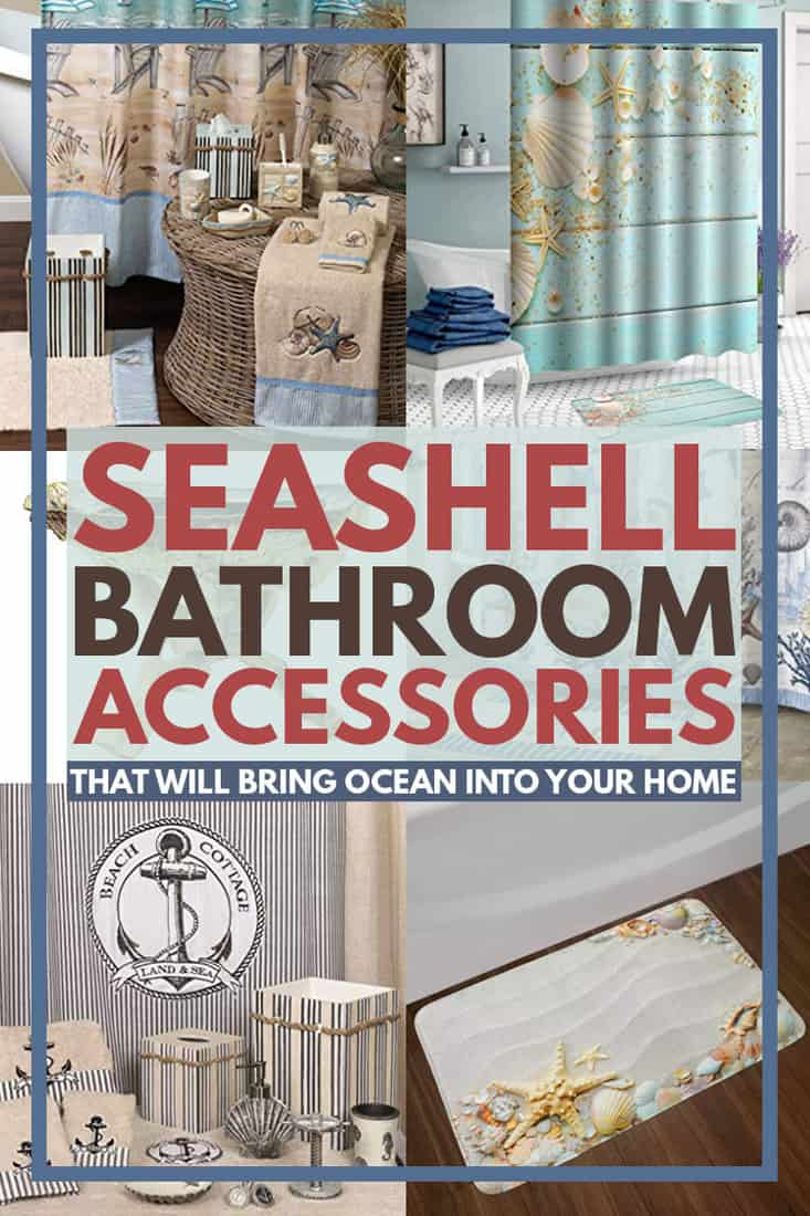 Seashell Bathroom Accessories That Will Bring The Ocean Into Your Home