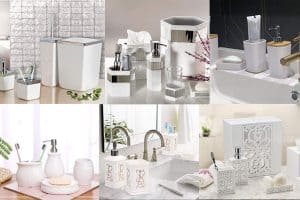 Read more about the article 10 Awesome White Bathroom Accessories [Special Sets]