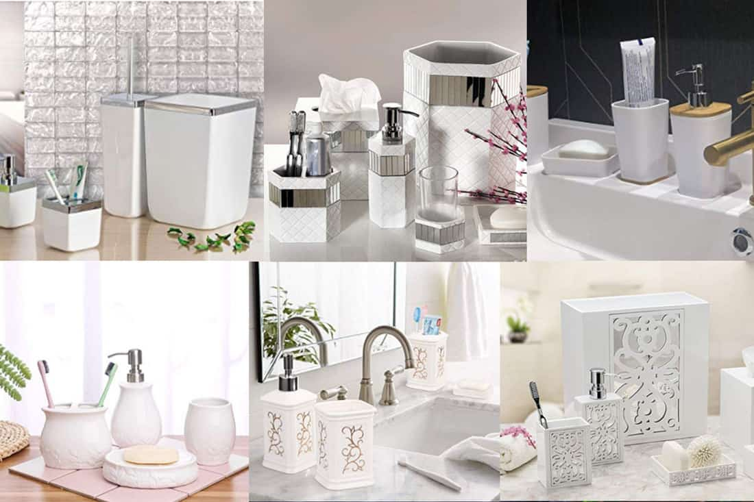 10 Awesome White Bathroom Accessories Special Sets Home Decor Bliss