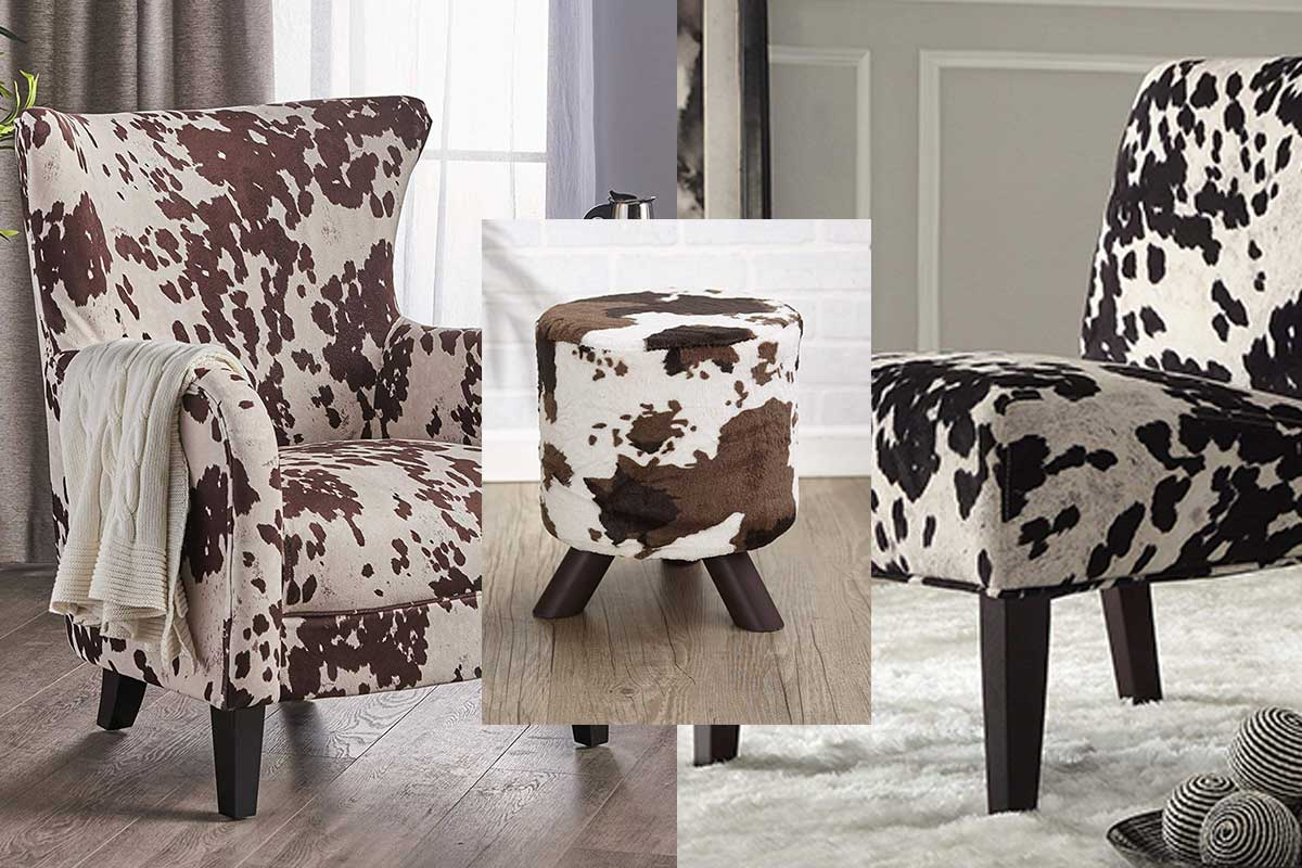 Cowhide Cushions Instantly Transform The Look Of Any Sofa