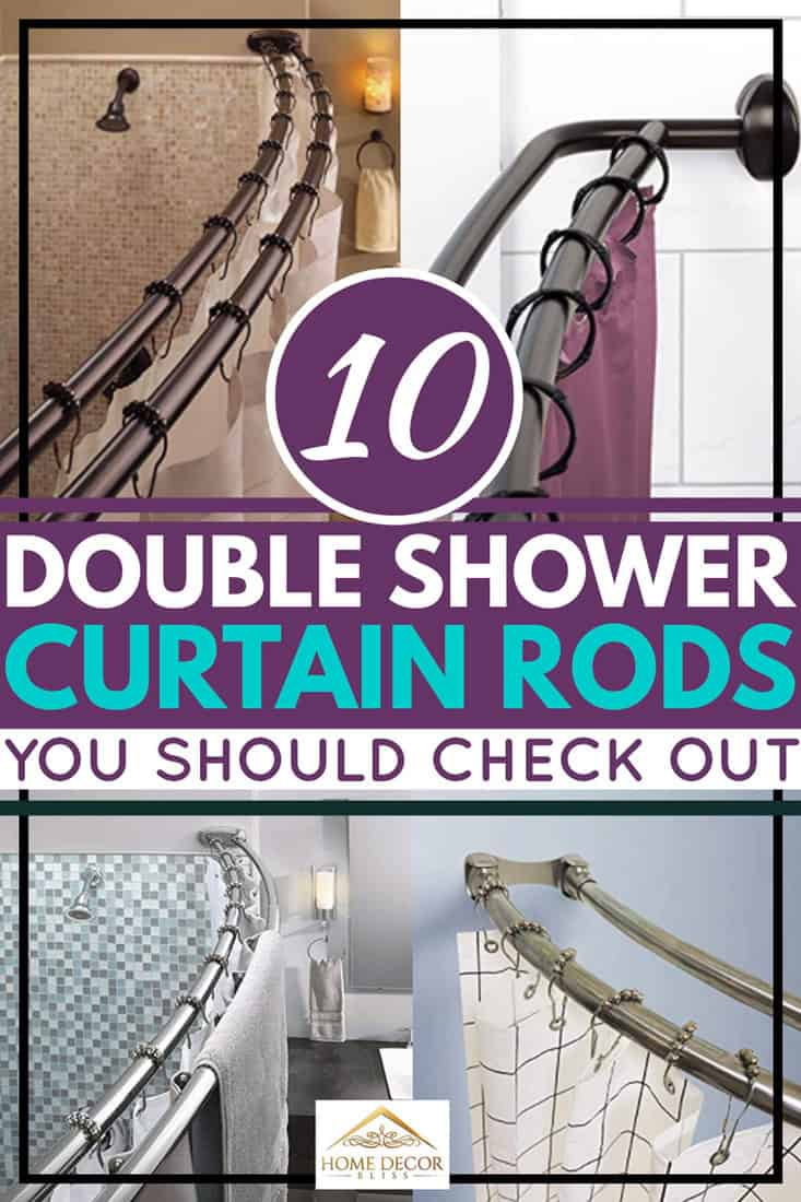 10 Double Shower Curtain Rods You Should Check Out Home