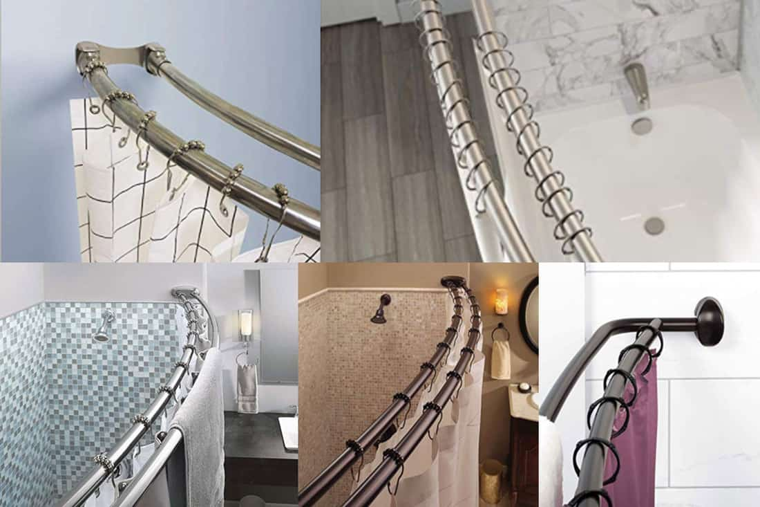 Picture of: 10 Double Shower Curtain Rods You Should Check Out Home Decor Bliss