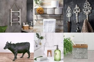 15 Farmhouse Bathroom Accessories For Your Rustic Design