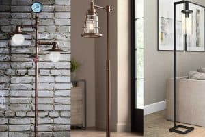 13 Industrial Floor Lamps That Will Add Style to Any Room