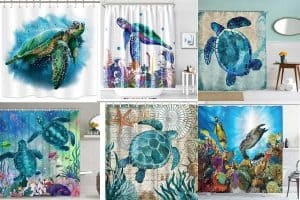 Read more about the article 10 Awesome Sea Turtle Shower Curtains