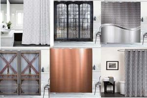 11 Industrial Shower Curtains For a Truly Special Bathroom