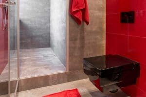 60 Red Bathroom Ideas [Huge Image Gallery!]