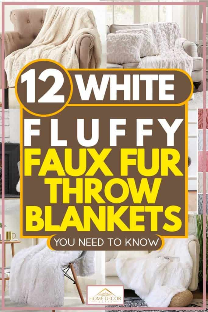 12 White Fluffy Faux Fur Throw Blankets You Need In Your Home Home Decor Bliss