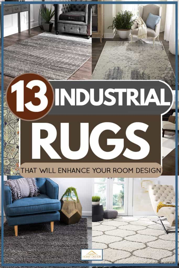 13 Industrial Rugs That Will Enhance Your Room Design