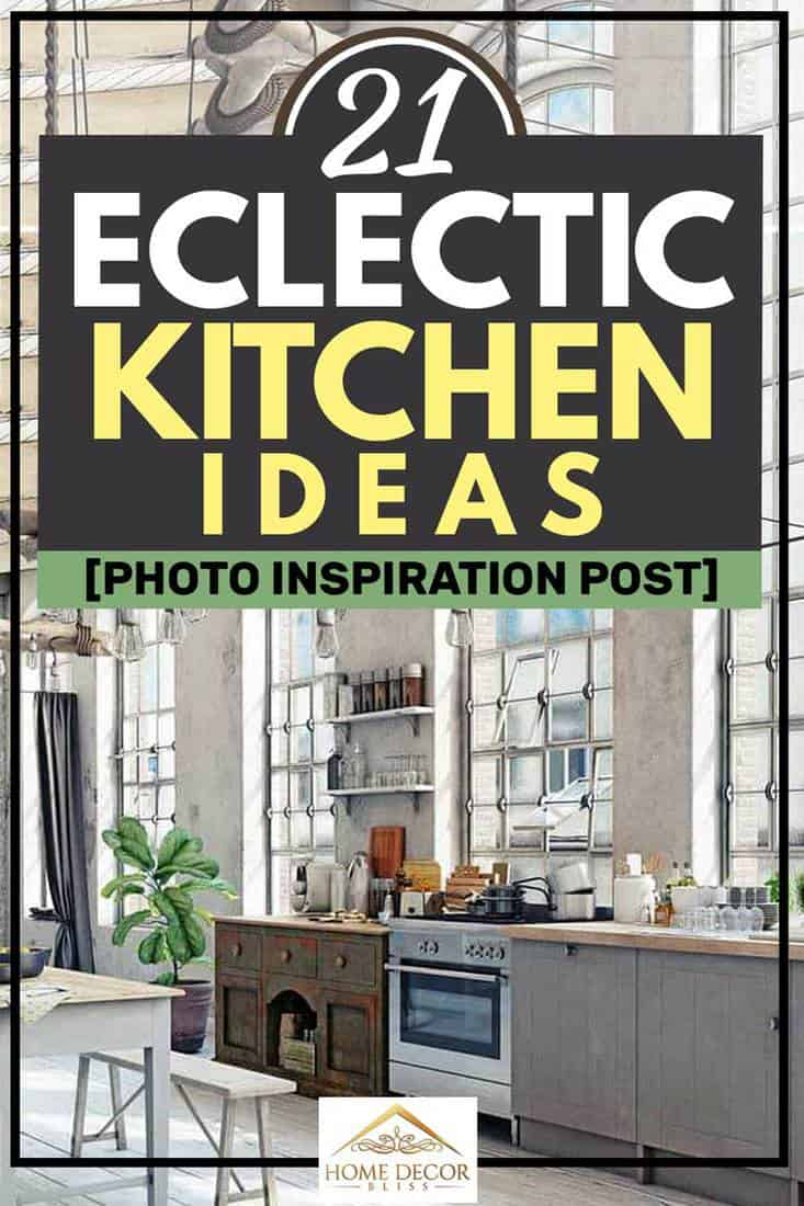 21 Eclectic Kitchen Ideas [Photo Inspiration Post]