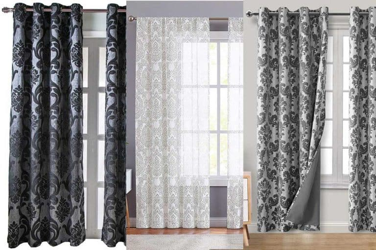 What Are Damask Curtains? [Including Examples]