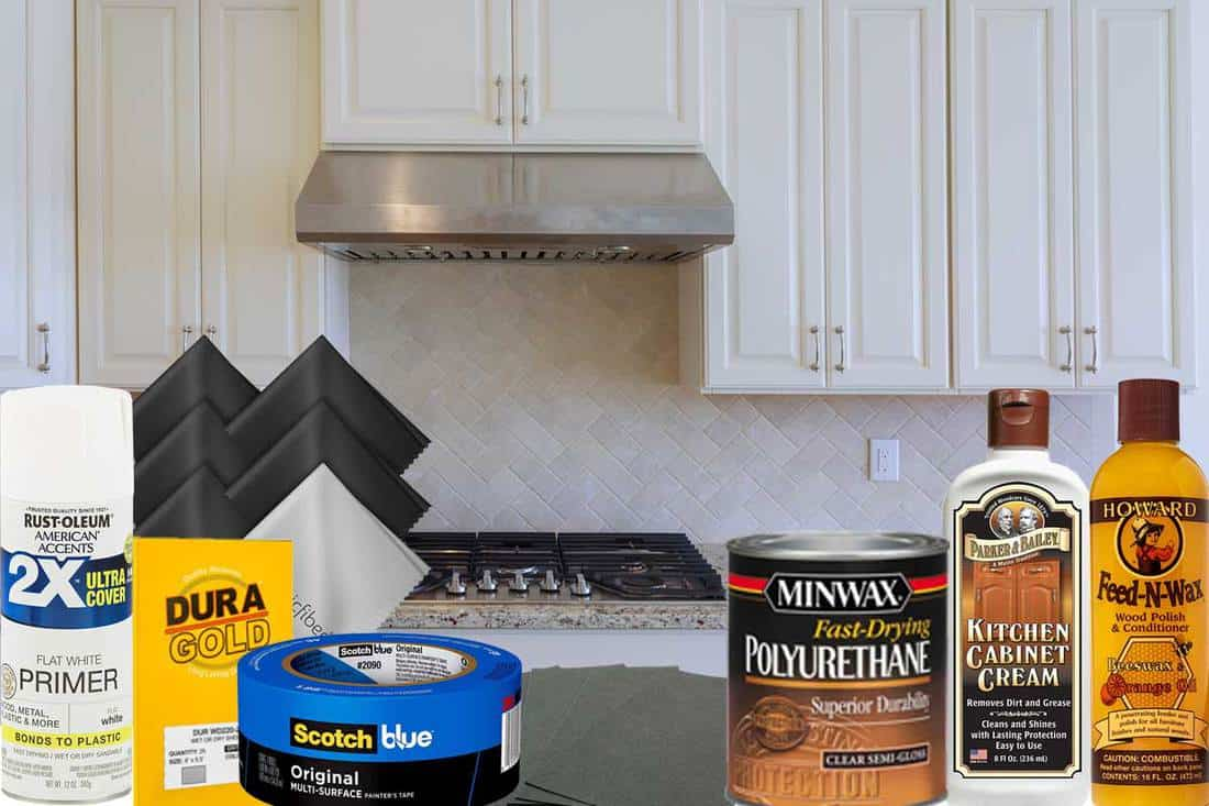 How To Fix Worn Spots On Kitchen Cabinets Home Decor Bliss