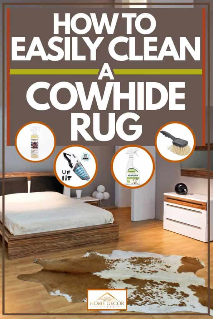 How to Easily Clean a Cowhide Rug